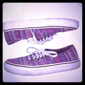 Sold Vans Aztec Shoes Womens 8.5 Mens 6 Used